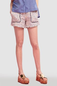 Sister Jane - Mod Squad Tweed Shorts - short - ADG STUDIO