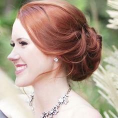 Lovely #BridalHair!