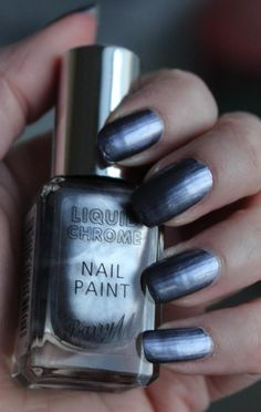 Barry M Liquid Chrome - Daisy Beauty Barry M, Chrome Nails, Glow, Nail Polish, Beauty, Nail Polishes, Cosmetology, Polish, Gel Polish
