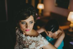 The bride getting ready. Destination wedding photographer in Malaga #destinationPhotographer #pedroBellido #gettingReady