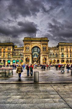 Milan, Italy - Three days in Tuscany, three in Milan