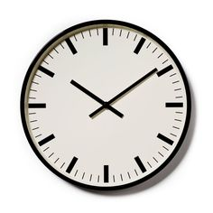 Mercer + Reid Black Metal Clock - Homewares Home Decorations & Art - Adairs online