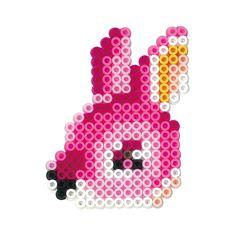 Rabbit perler beads