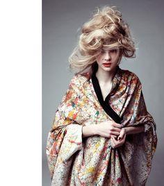 29b1ec8e172fe Kimono. Photo by Mario Kersten Portfolio Website, Online Portfolio, Cherry  Blossom Girl,
