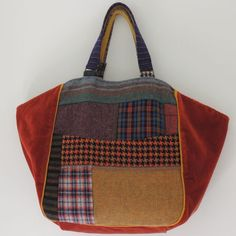 Sac le Marais tweed patch