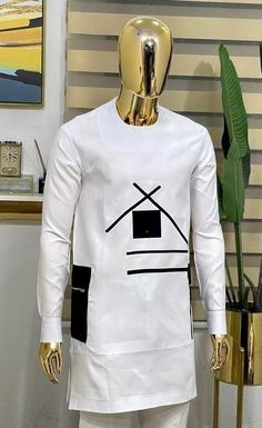 Latest African Wear For Men, African Shirts For Men, African Dresses Men, African Attire For Men, African Clothing For Men, Nigerian Men Fashion, African Men Fashion, Fashion Hub, African Print Dress Designs