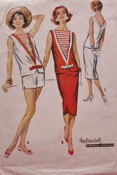 McCall's 4573 Vintage Sewing Pattern 1950s by BluetreeSewingStudio, $18.00
