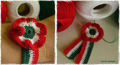RURAL WOMEN: Horgolt kokárda Crochet Necklace, Handmade, Women, Creative, Hand Made, Handarbeit, Woman