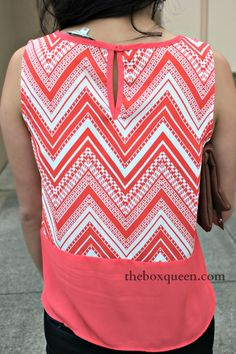 love the color and the keyhole, but trying to stay away from too much chevron