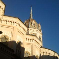 cittaditorino Chiesa del Sacro Cuore di Maria a #sansalvario #inTO #Torino #Turin #italia #italy #chiesa #cielo #blu
