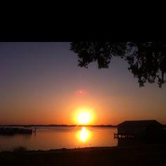 Sunset on Lake Ariana, Auburndale, Florida