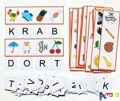 zábavné a napínavé hádanky - odkrývání skrytých slov. Sada 120 zalaminovaných kartiček (obrázkové listy + písmena) ke skládání slov ! Přiřaďte na list na každý obrázek jeho počáteční písmeno a zobrazí se vám skryté slovo. Velká zábava pro děti, které takové ... Montessori, Diy And Crafts, Kids Rugs, Teacher, Logos, Holiday Decor, School, Children, Grade 1