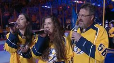 Country Music Lyrics - Quotes - Songs Vince gill - Vince Gill Joined By Daughters For Impressive National Anthem Performance - Youtube Music Videos https://countryrebel.com/blogs/videos/amy-grants-lookalike-daughter-shows-off-impressive-vocals-by-joining-her-sister-and-vince-gill-for-national-anthem-performance