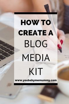 Blogger? Want to work with brand? Then you need a media kit. I'll show you how to create one so you can secure those brand partnerships Media Kit, Blog Topics, Blogger Tips, Creating A Blog, Business Tips, Creative Business, Online Business, Blogging For Beginners, Make Money Blogging