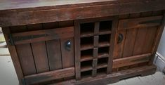Venice Cabinet with Wine Rack by PalletBrighton on Etsy