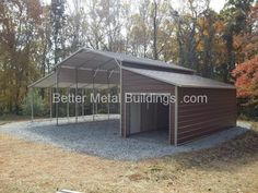 14 Gauge A-frame Style Barn - 38x26x12- Vertical Roof- Certified -   •Three section Barn  •Center Section - 18x26x12  •attached Lean-to on each side - 10x26x8  •One lean-to fully enclosed 10x26x8  •8x7 roll up door  •walk-in door inside wall  •extra braces  •Upgraded Ground Anchors  •30 day workmanship warranty  •20# snow load warranty  •110 MPH wind load warranty  •Sales Price $6,205+tax(your state and local)  •down payment - $930.00  •Pay 15% down and the rest is due at Delivery and…