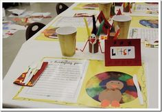 super cute Thanksgiving activities for kids...food, crafts, writing activities