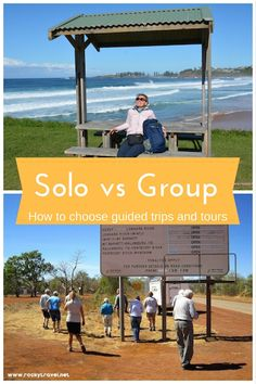 Solo vs Group - How to choose the best guided trips and tours in Australia.