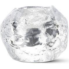 KOSTABODA Snowball tealight holder small (Clear