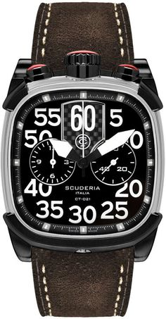 CT Scuderia Watch Scuderia Scrambler Chronograph #add-content #bezel-fixed #bracelet-strap-leather #brand-ct-scuderia #case-depth-13mm #case-material-steel #case-width-45-x-40mm #chronograph-yes #delivery-timescale-call-us #dial-colour-black #gender-mens #luxury #movement-quartz-battery #new-product-yes #official-stockist-for-ct-scuderia-watches #packaging-ct-scuderia-watch-packaging #style-dress #subcat-scrambler #supplier-model-no-cs70104 #warranty-ct-scuderia-official-2-year-guarantee…