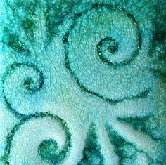"""3"""" Spiral Tile, Symmetry Tile Works"""