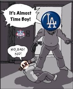 Los Angeles Dodgers Baseball, Dodgers/Giants Rivalry