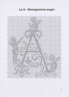 Angels Letter A