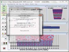 Knitting Patterns Stitches DesignaKnit 8 Integrated Knitting of the Shape and Stitch Patterns Together Stitch Patterns, Knitting Patterns, Knitting Tutorials, Lace Knitting, Knit Crochet, Knitting Designs, Software, Ravelry, Shapes