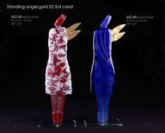 standing angel gold 23 3/4 carat 40 cm