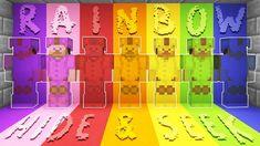 SECRET Rainbow HIDE & SEEK MINECRAFT PRISON! - Logdotzip - #minecraftmemes #minecraft #mcm #gamememes #videogames #minecraftmeme #dantdm #computergames Minecraft Memes, Prison, Videogames, Rainbow, Rain Bow, Rainbows, Video Games, Video Game