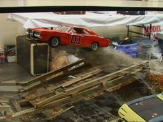 car dioramas