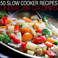 50 Slow Cooker Recipes Under 299 Calories