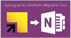 Microsoft lanza dos nuevas herramientas para OneNote: Extension para Chrome que permite guardar páginas web y aplicación web para migrar data de Springpad (cierra el 28 de Junio) a OneNote