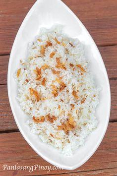 Sinangag or Garlic Fried Rice