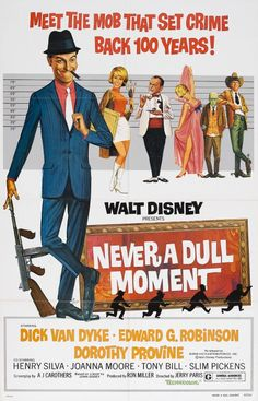 Never a Dull Moment 1977 Authentic x Original Movie Poster Near Mint, Very Fine Dick Van Dyke Disney U. One Sheet Disney Live Action Films, Disney Movie Posters, Old Movie Posters, Original Movie Posters, Disney Films, Action Movies, Cinema Posters, 1960s Movies, Old Movies