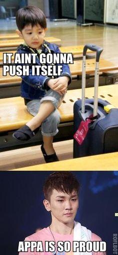 Omg i'm sure i've already pin it but lol .. can't resist xd #Key's so proud of Yoogeun  haha