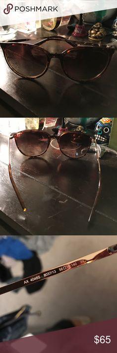 Armani exchange tortoise shell sunglasses Armani exchange tortoise shell sunglasses A/X Armani Exchange Accessories Sunglasses