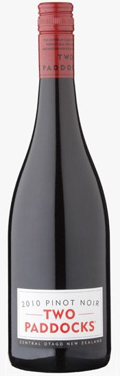 Two Paddocks - 2010 Pinot Noir. Central Otago, New Zealand. Was pleasantly surprised to see this at the wine tasting.
