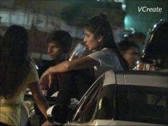 Katrina Kaif seen chilling and boozing roadside - LEAKED VIDEO.