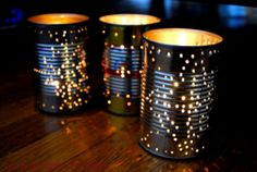 Tin box lamp #waste #management, #art & #craft from #waste #materials, #home #made #gifts