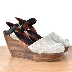 Rachel Comey Elva Wedge / my kind of shoes, veeery nice! Daily Shoes, Sock Shoes, Shoe Boots, Look Fashion, Fashion Shoes, Zapatos Shoes, Rachel Comey, Shoe Collection, Me Too Shoes