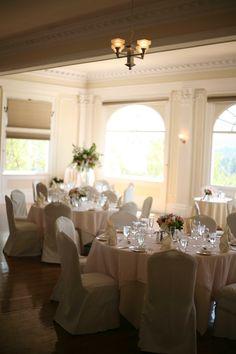 Stanley Hotel Wedding Table Settings