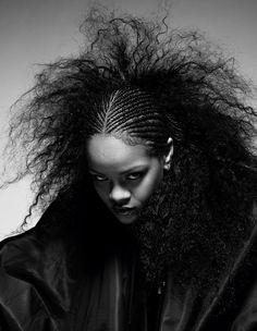 Rihanna for i-D Magazine © Mario Sorrenti Rihanna Riri, Mario Sorrenti, Rihanna Cover, Id Magazine, Magazine Covers, Bad Gal, Box Braids Hairstyles, Rihanna Hairstyles, Curls