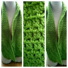 Crocheted light weight scarf #172 in Portland, OR (sells for $15)