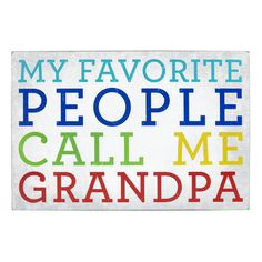 The Paper Store About Face Designs, Inc. People Call Me Grandpa Wall Plaque #thepaperstore #fathersday #grandpa #myfavorite