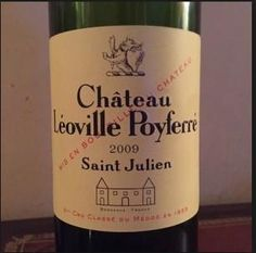 2009 Château Léoville Poyferré