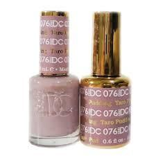 DND DC076 Taro Pudding Dnd Gel Nail Polish, Gel Polish Colors, Get Nails, Hair And Nails, Teacher Nails, Almond Shape Nails, Paws And Claws, Shellac, Trendy Nails