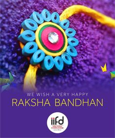 IIFD wishes you a very Happy Raksha Bandhan.  Indian Institute of fashion & Design. Number 1 Fashion Designing Institute. Get more info @ http://iifd.in or http://iifd.in/diploma-in-interior-designing/   #iifd #fashion #designing #institute #chandigarh #mohali #punjab #design #fashioncourse #interiordesign #textiledesign  #fashiondesign #happyrakshabandhan