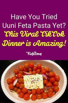 Have You Tried Uuni Feta Pasta Yet? This Viral TikTok Dinner is AMAZING! Midweek Meals, Weeknight Meals, Vegetarian Pasta Recipes, Feta Pasta, Nutritious Meals, How To Cook Chicken, Cherry Tomatoes, Pasta Dishes, Family Meals