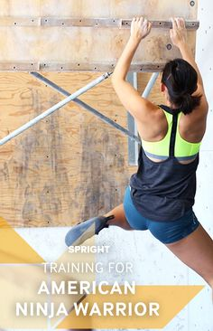American Ninja Warrior: The focus on upper body and grip strength America Ninja Warrior, Ninja Warrior Course, Spartan Race Training, Ninja Training, American Ninja Warrior Obstacles, No Equipment Workout, Fitness Equipment, Warrior Workout, Gymnastics Workout